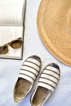 It's almost summer! When you start to transition your wardrobe you will probably notice how dirty your espadrilles are from all that sand last year.  Here are easy steps to help your espadrilles shine again.
