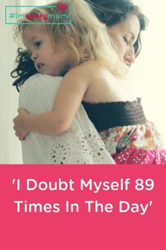 I doubt myself 89 times in the day and as my kids fall asleep I quietly apologise to them for when I was a grumpy mum at 1.53pm, a tired mum at 3.48pm and a wrong mum at 5.05pm, when I incorrectly blamed one or the other on something they didn't do purely because frustration hit breaking point. I feel a contemptuous guilt as I pick up the half-eaten dinners of waffles and cheese, and promise tomorrow I will get them to eat broccoli. #imeverymum #motherhood #parenting Single Mum, Working Mums, Quotes About Motherhood, Momma Bear, Mom Quotes, Family Life, How To Fall Asleep, Tired, My Life