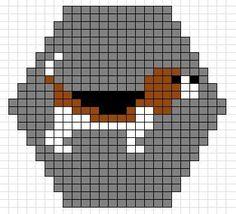 French Bulldog Pixel Art Boris N Pixel Art Perler
