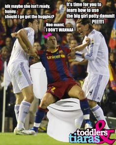 omg, soccer is just so funny. furbol forver