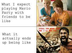 Meme Comics – Playing Mario Party