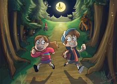 DeviantArt: More Like Gravity Falls Dana And Marcus Pines By ...