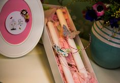 ΛΑΜΠΑΔΕΣ!!! Easter, Candles, Handmade, Hand Made, Easter Activities, Candy, Candle Sticks, Handarbeit, Candle