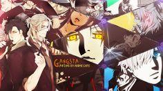 Download GANGSTA Wallpaper Anime Characters 1600x900