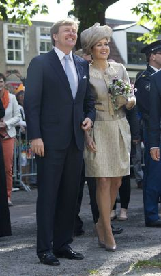 MYROYALS  FASHİON: King Willem- Alexander and Queen Maxima visit Friesland and Noord- Holland