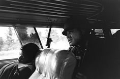 A young woman naps on the bus to Jackson, Mississippi, as a National Guardsman hovers over her, armed and alert in 1961. Soon after LIFE's Schutzer snapped this photo, the bus pulled into the station, the Freedom Riders attempted to desegregate the facilities, and they were promptly arrested. The National Guard, for all the physical protection they offered, would do nothing to protect the Riders' legal rights.