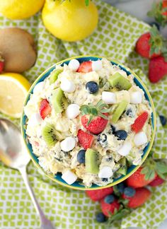 """Celebrate the season with a """"Spring Fling"""" Fluff Fruit Salad!"""