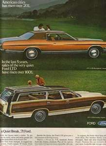1970s car advertisements