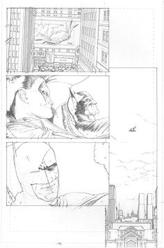 Batman in progress comic panels Comic Book Layout, Comic Book Pages, Comic Book Artists, Comic Artist, Comic Books Art, Comic Drawing, Comic Panels, Batman Art, Art Studies