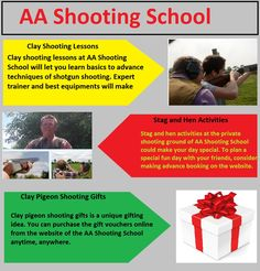 Clay pigeon shooting gifts is a unique gifting idea. You can purchase the gift vouchers online from the website of the AA Shooting School anytime, anywhere.