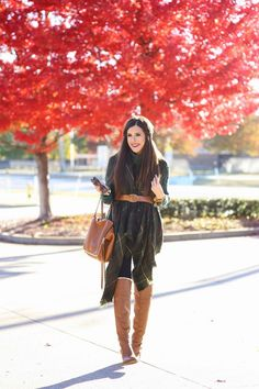 Trend Alert: Try Belting Your Scarf ThisWinter | StyleCaster