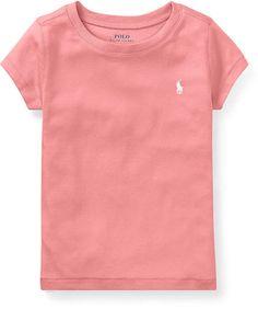 6de730162a7 Polo Ralph Lauren Toddler Girls Crew-Neck T-Shirt Kids - Shirts   Tees -  Macy s