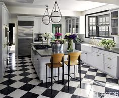 New Kitchen Marble Floor Farmhouse Sinks 26 Ideas Kitchen Wall Units, Kitchen Flooring, Kitchen Countertops, Dark Counters, Island Kitchen, Marble Floor Kitchen, Marble Countertops, Kitchen Sink, Kitchen Dining