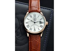 L2 Dual Time - Brown Leather