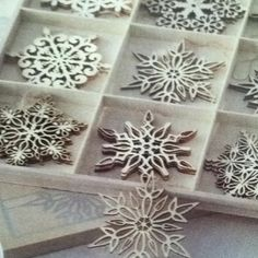 laser cut wood ornaments