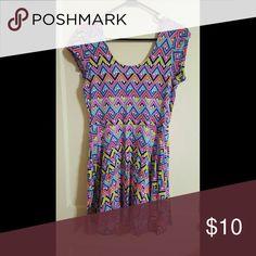 Dress Multicolor skater dress Dresses Midi