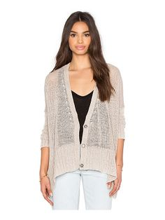 b51b7df9e36 Shop for Free People Vee Vee Cardi in Sand at REVOLVE.