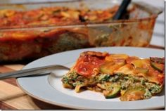 Summer Vegetable Vegan Lasagna: I've recently been on a kick where I'm trying to prepare meals that I can prep ahead of time and then just cook to the right temp when we are ready to eat.  It gives me more time in the evenings to hang out with Casey doing other things, instead of spending all night in the kitchen.The latest creation was made on an evening where I really wanted something filling and hearty, but not something that was too rich or dense.  So often lasagna is all about the…