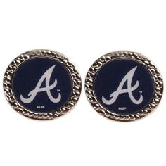 Being the Atlanta Braves fan doesn't mean you have to dress in team gear from head to toe every day. Sometimes you want to show off your spirit with a little dash of class. Get these WinCraft Round Post Earrings for those days you just want to accessor Braves Baseball, Brave Women, Atlanta Braves, Take That, Earrings, Accessories, Fitness, Sports, Fashion