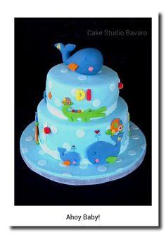 Ahoy Baby cake