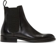 Tiger Of Sweden Black Alf Chelsea Boots