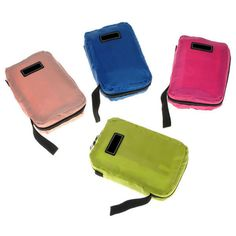 Travel Nylon Wash Handbag Cosmetic Makeup Toiletry Storage Organizer Mesh Zipper - Gchoic.com
