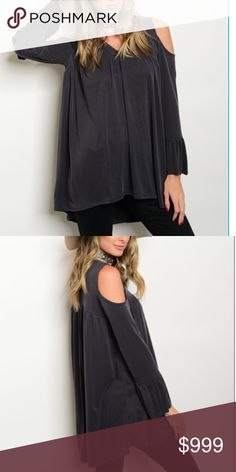 |Coming Soon| Peek-a-boo Shoulder Blouse Like this listing to get a price drop notification when it arrives ❣ Boutique Tops Blouses