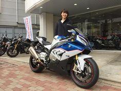 バイク女子のご紹介!!   Motorrad Central 目黒店