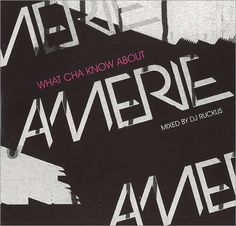 Amerie What Cha Know About Amerie 2009 USA CD album AMERIE9810: AMERIE What Cha Know About Amerie (2009 US promotional-only 15-track CD…