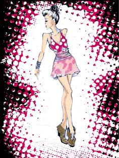 ANDRESSA J. HONÓRIO   Design de Moda   Kawek