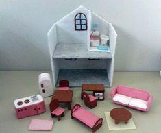 felt furniture & doll house