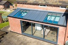 Prefab Extensions, Bungalow Extensions, Garden Room Extensions, House Extensions, Glass Conservatory Roof, Conservatory Design, Edwardian Conservatory, Roof Extension, Extension Ideas