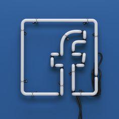 Facebook Neon on Behance