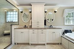 These 5 steps to update your bathroom vanity give it great updated look without doing a full bathroom remodel. A quick bathroom redo! Master Bathroom Vanity, Diy Vanity, Small Bathroom, Bathroom Ideas, Bathroom Designs, Bathroom Vanities, Master Bedroom, White Bathroom, Bathroom Remodeling