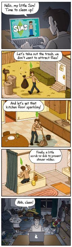 Limpieza virtual