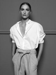 Anecdote AW16 Campaign. Shot by Jasper Abels. Model Valentine Bouquet. Styling: Nike Felldin. H&M: Sanne Bleeker.
