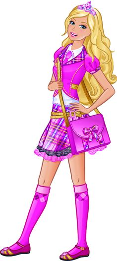 Barbie: Princess CHarm School, her new fave