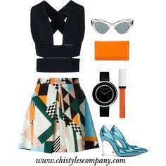 Fash by fashionslavebyc on Polyvore featuring polyvore, fashion, style, STELLA McCARTNEY, MSGM, Casadei, Georg Jensen, Miu Miu and Givenchy