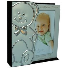 Personalised Silver Plated Baby Photo Album from Personalised Gifts Shop - ONLY Engraved Gifts, Personalized Gifts, Communion Gifts, Confirmation Gifts, Christening Gifts, New Baby Gifts, Baby Photos, Bookends, New Baby Products