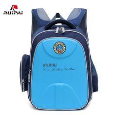 RUIPAI Orthopedic School Backpack Schoolbag For Children Girls Boys School Bags Shell Waterproof Schoolbags Students Rucksack