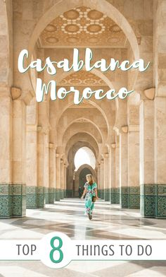 Casablanca, Morocco: The Top 8 Things To Do! If you're headed to Casablanca check out this handy guide for where to eat, what to see, and where to sleep. Including the Hassan II Mosque, Habbous, the old and new Medinas, the Corniche, and Rick's Cafe. by Wandering Wheatleys via @wanderingwheatleys