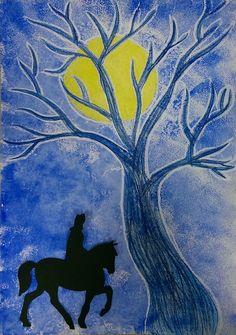 St Nicholas Day, Art For Kids, Journals, Moose Art, School, Animals, The Moon, Art For Toddlers, Art Kids