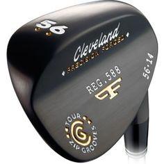Cleveland 588 Forged Black Pearl Wedge Wilson Golf Clubs, Cleveland Golf, Golf Putters, Golf Shop, Golf Irons, Putt Putt, Golf Ball, Golf Courses, Wedges