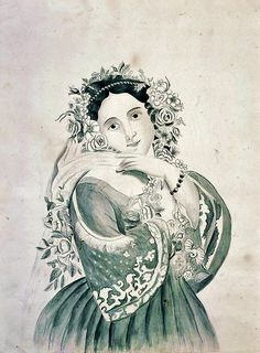 Emily Eastman.  Girl Bedecked with Flowers.