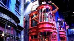 Diagon Alley | Harry Potter studio tour | Leavesden Studios | Hertfordshire, England.  @Brenna Healy & @Kelsey Nolan let's goooooo!