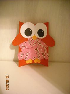 Adorable Owl Pillow Box by SEWMOM on Etsy, $4.50