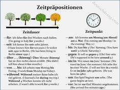 time preps2 prepositions zeit präpositionen