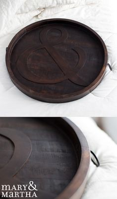 Beautiful, durable, and functional, you will love the Mary & Martha Ampersand Tray for decor and for use! Great for hanging on the wall or serving food.