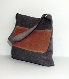Large canvas tote bag shoulder bag shopping bag by KekOriginals