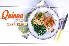 Když se řekne quinoa, spoustu lidí hned napadne spojení se zdravou stravou. Quinoa se stala takovým moderním zaříkávadlem a vyhledávanou surovinou těch, kdo chtějí se svým jídlem a vařením udělat nějakou změnu směrem k lepšímu,... Quinoa, Palak Paneer, Mashed Potatoes, Side Dishes, Yummy Food, Lunch, Dinner, Cooking, Ethnic Recipes